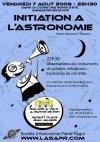 soir d'été astronomie